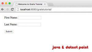 grails index page
