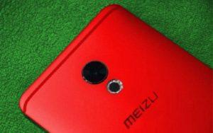 Red Meizu Pro 6 Plus