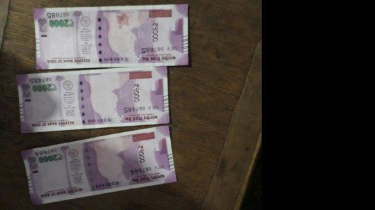 finance ministry ask for report of fake churan label note