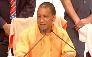 cm adityanath in action