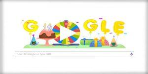 Happy Birthday Google